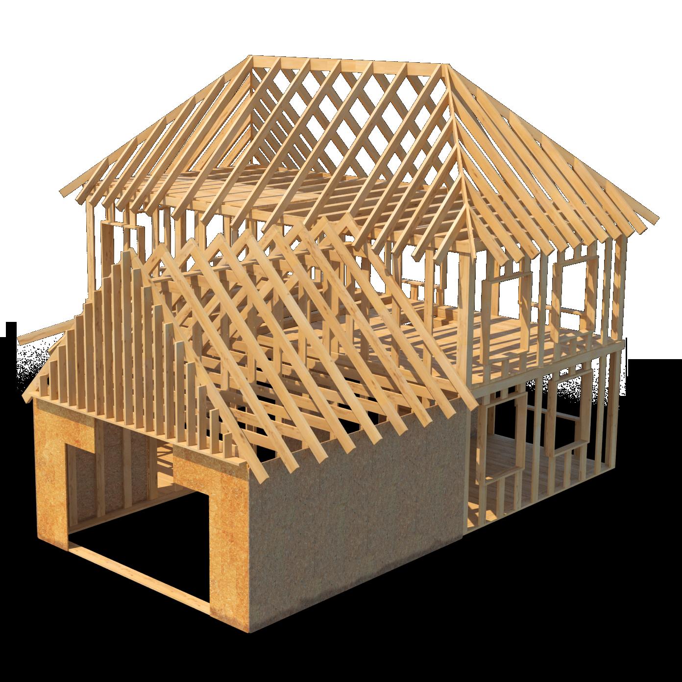 house onstruction-timberwork